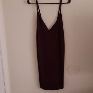 American Apparel dress with back detail